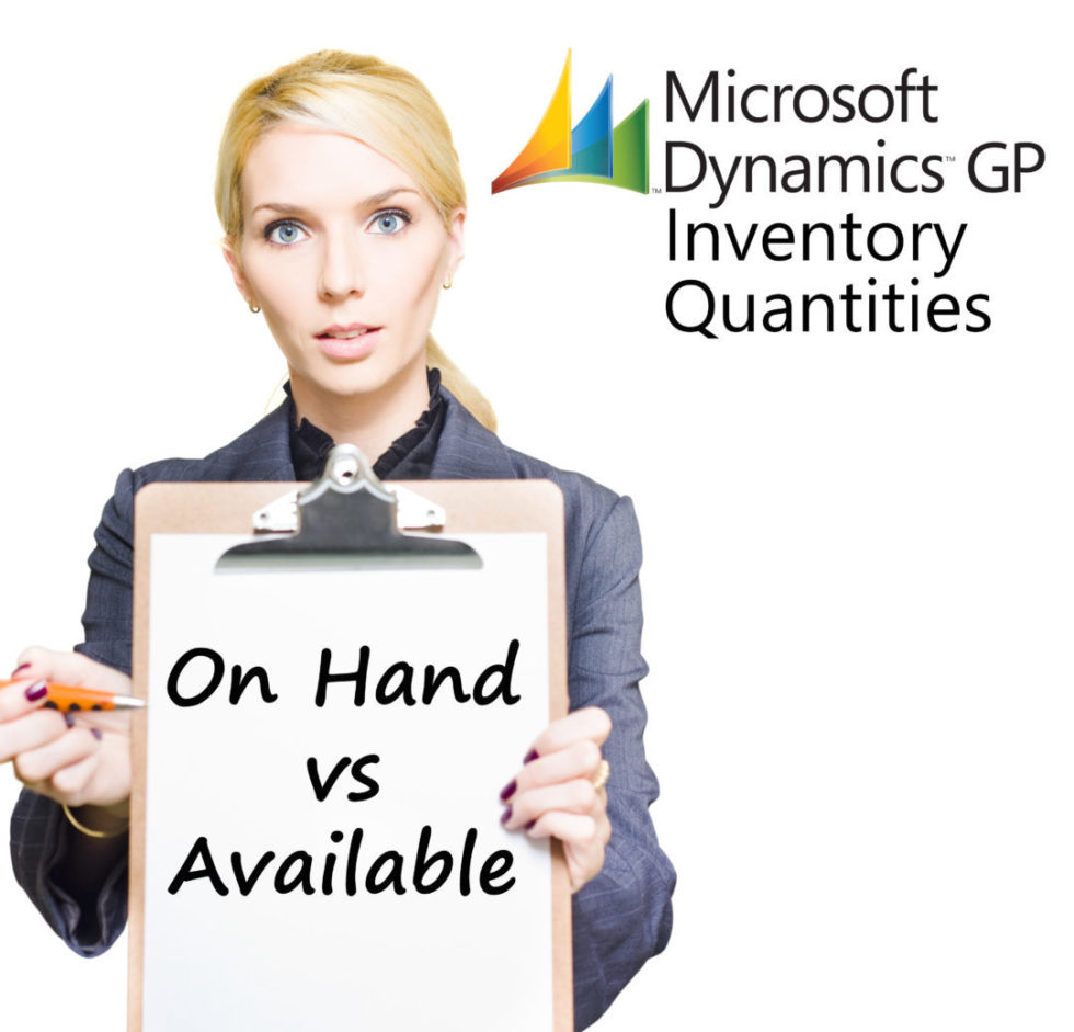 GP Inventory Quantities Question